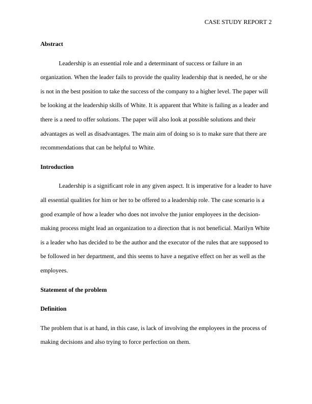 (PDF) Effects of Leadership on Organizational Performance