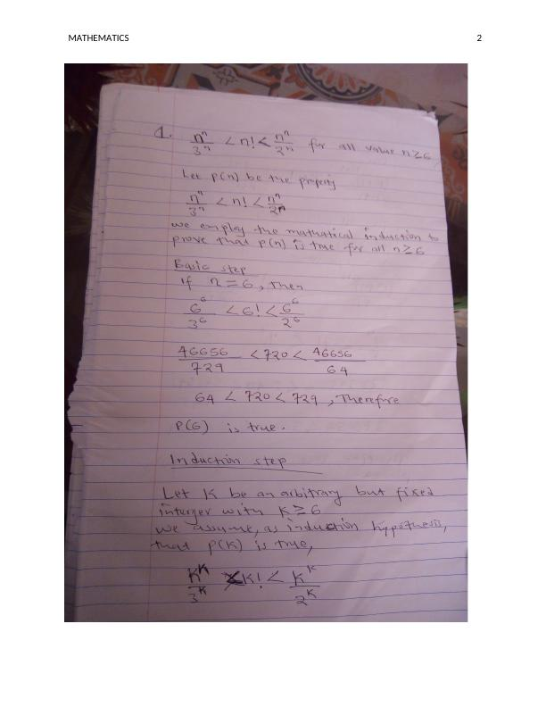 MATHEMATICS. 5. : MATHEMATICS. 0. MATHEMATICS. Name of