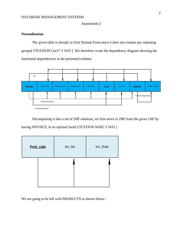 Assessment on Database Management System