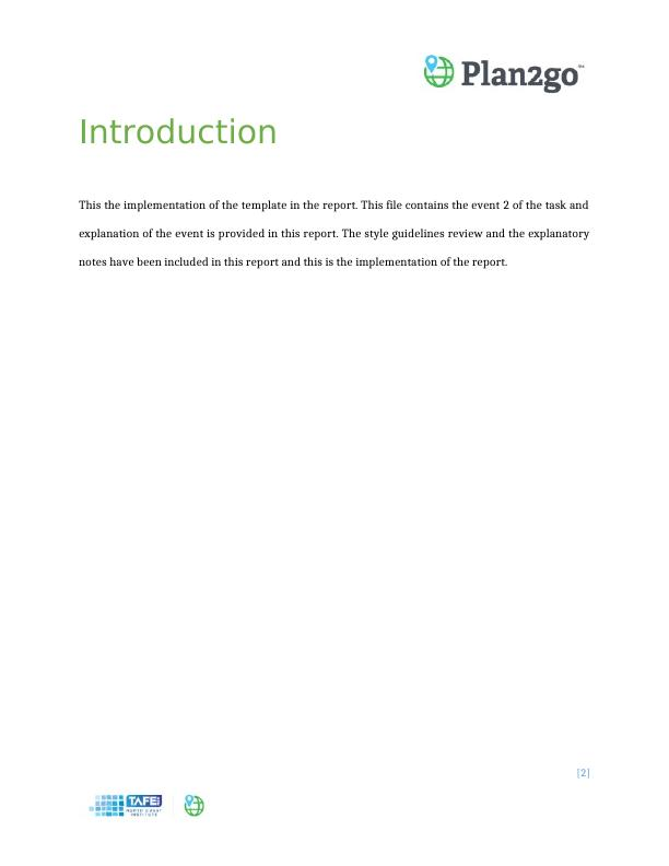 TEMPLATE IMPLEMENTATION PLAN (PDF)