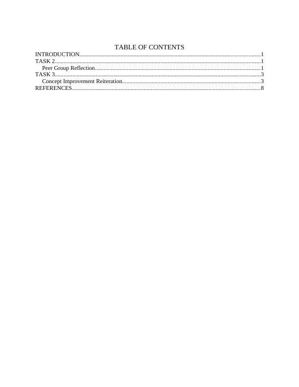 Enterprise on BMC Model Assignment