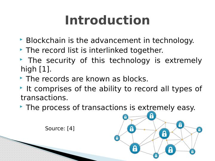 (PDF) Blockchain: Challenges and applications