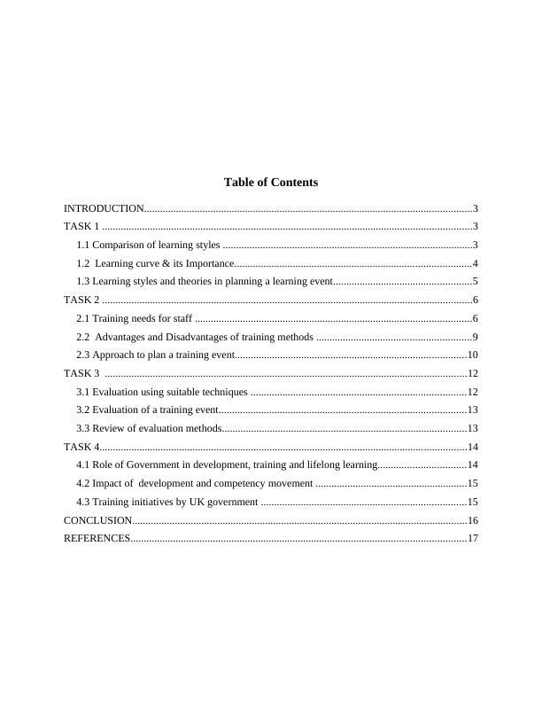 ( HRD) Human Resource Development Assignment