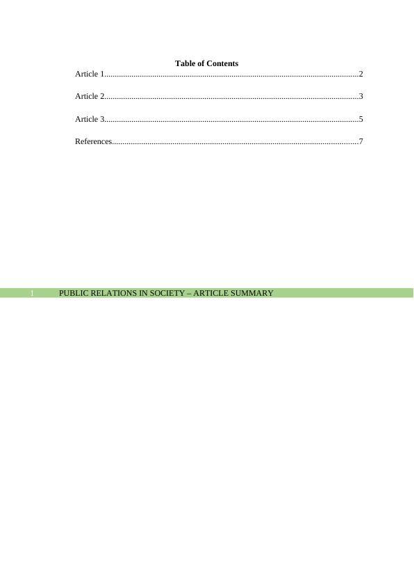 (PDF) Public Relations in Society