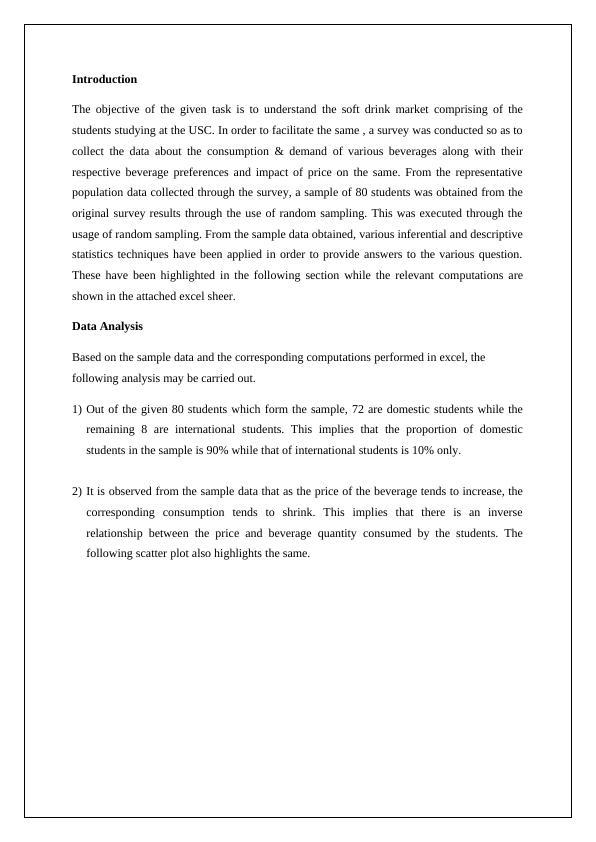 Quantitative Methods Assignment (Doc)