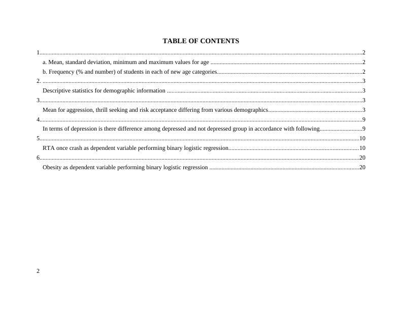 Bio statistics manuscript | Descriptive statistics