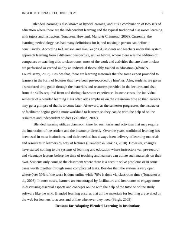 Instructional Technology PDF